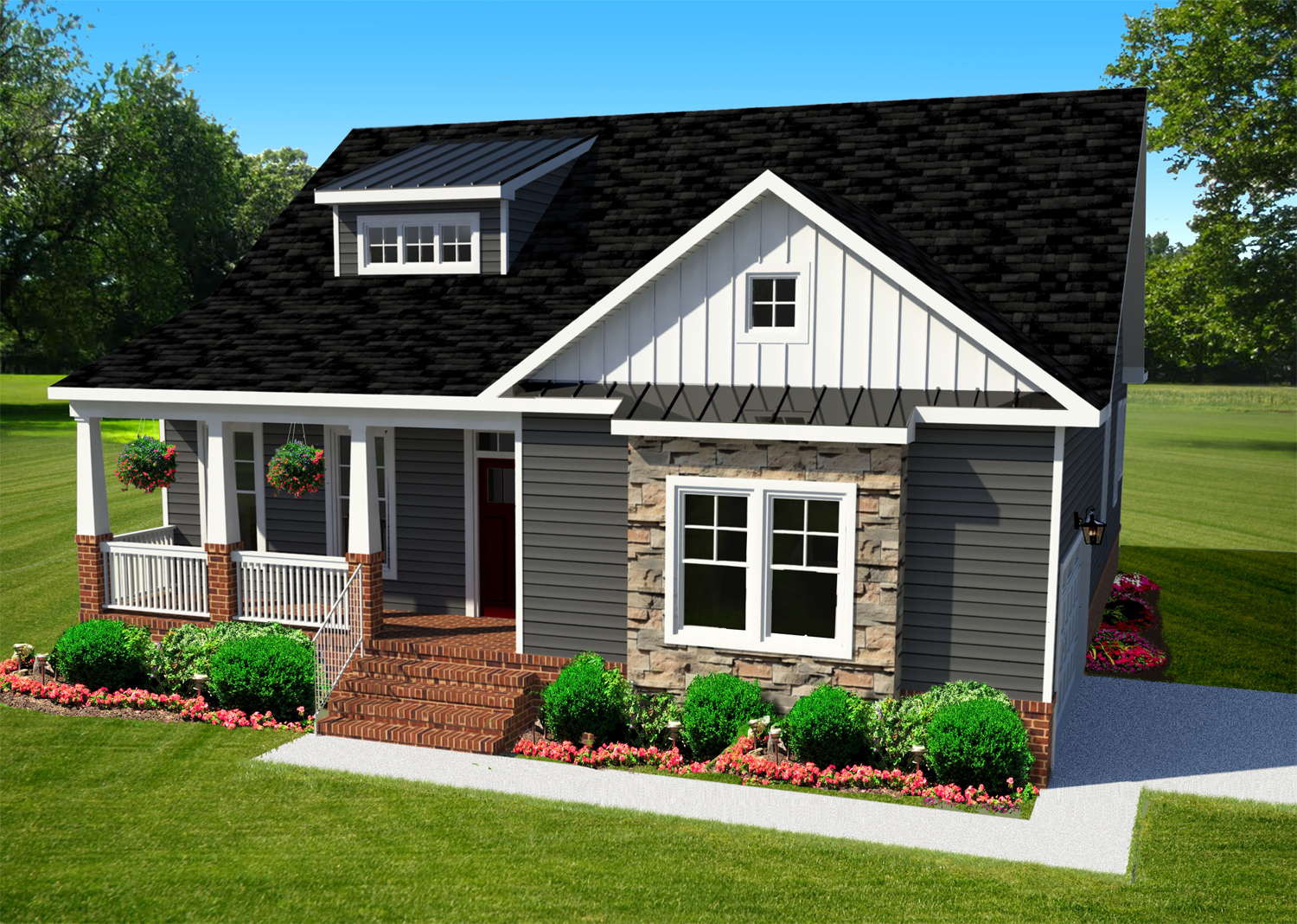 AB Homes The Kitty Hawk Floor Plan