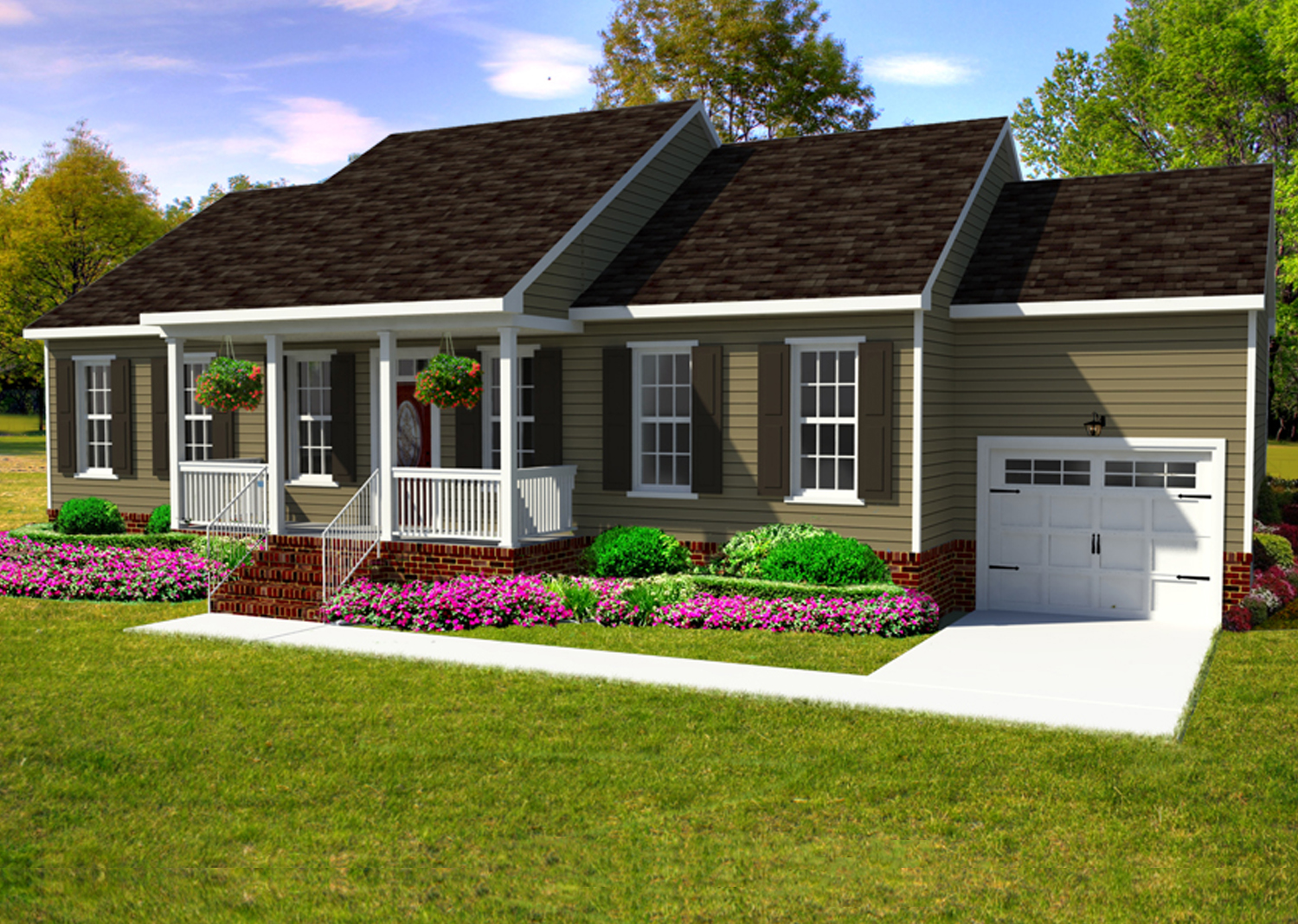 Windsor Affordable New Construction Home Suffolk VA AB Homes
