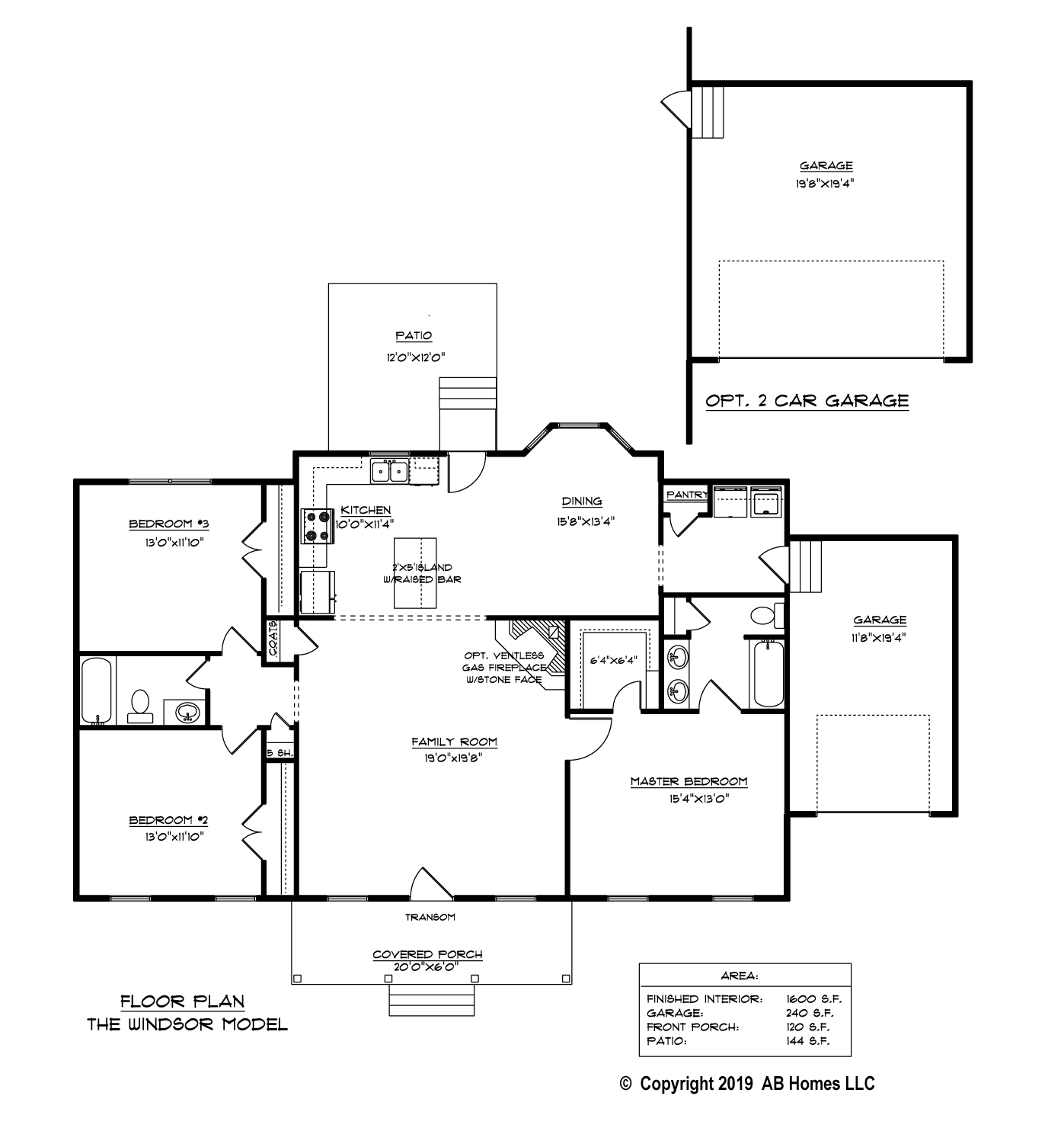 AB Homes updated The Windsor floor plan Suffolk New Home Builder