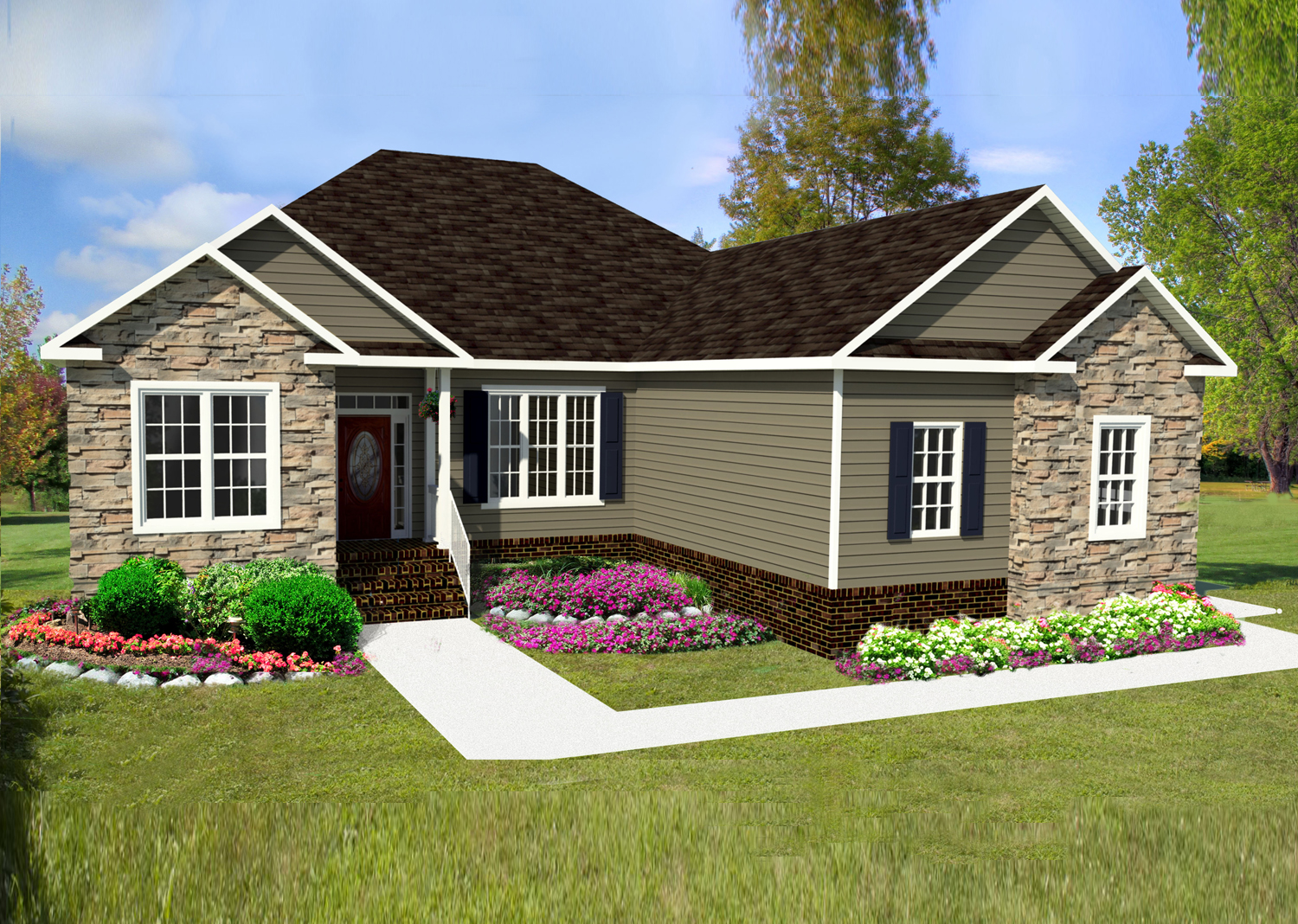 AB Homes The Branton II model Under Contract in Suffolk Virginia