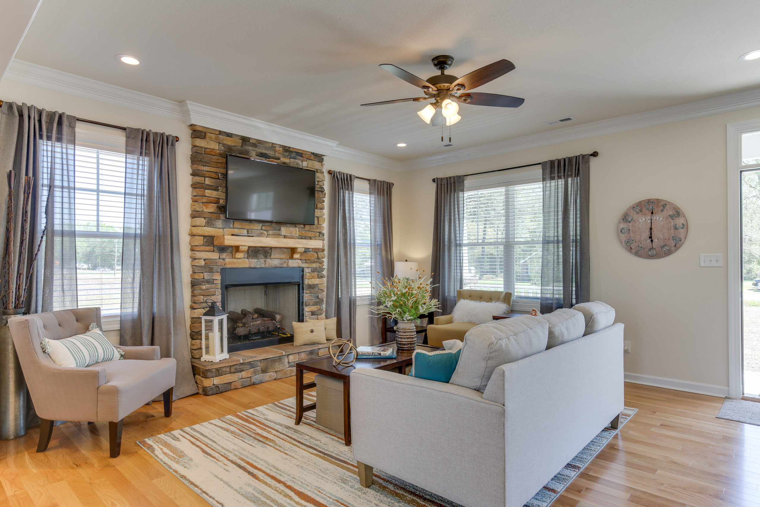 The AB Homes Gilbert Floor Plan Living Room On The Blog Not Interested In A Bidding War? Consider A Custom-built Home Instead.