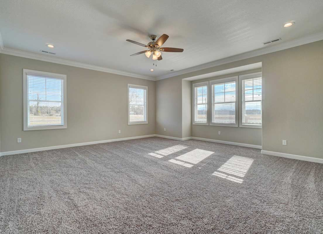 The First Floor Master Bedroom Of The Sussex Floor Plan By AB Homes VA